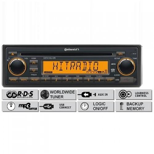 Радио платформа FM/AM, USB MP3/WMA, CD - (CD7416U-OR)