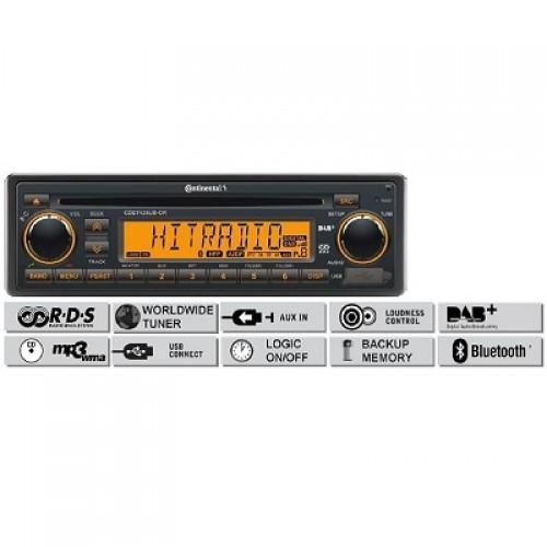 Радио платформа FM/AM, USB MP3/WMA, CD, Bluetooth®, DAB/DAB+/DMB - (CDD7428UB-OR)