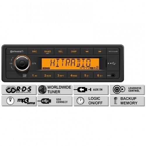 Радио платформа FM/AM, USB MP3/WMA - (TR7411U-OR)