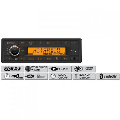 Радио платформа FM/AM, USB MP3/WMA, Bluetooth® - (TR7412UB-OR)