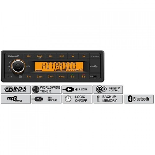 Радио платформа FM/AM, USB MP3/WMA, Bluetooth® - (TR7423UB-OR)